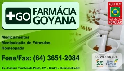 FARMÁCIA GOYANA