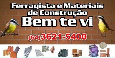 Bem Te Vi Materiais De Construção e Ferragista
