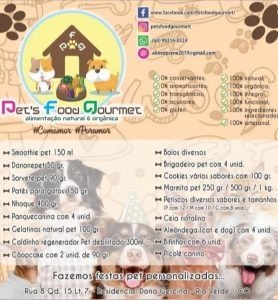 Pet's Food Gourmet